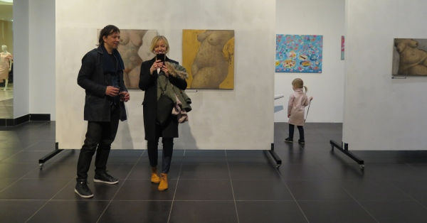 calendar girls : m.art gallery : rīga : 2017
