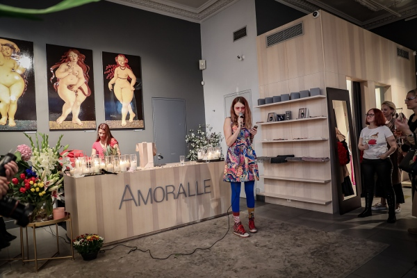venus : fashion house amoralle : rīga : 2019