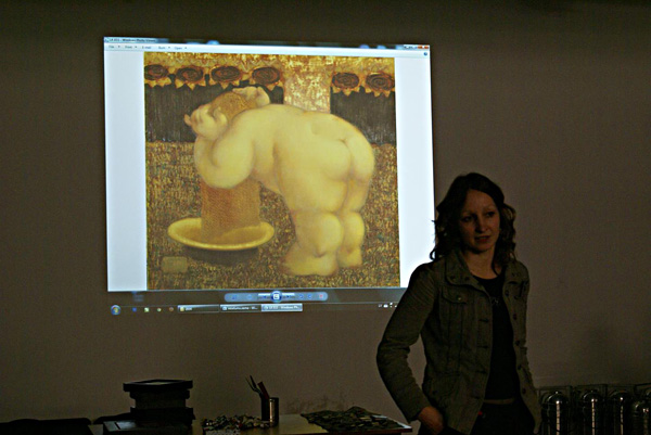 masterclass : liepaja college of art : 2013